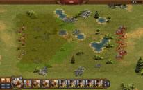 Tropas en una batalla estratégica